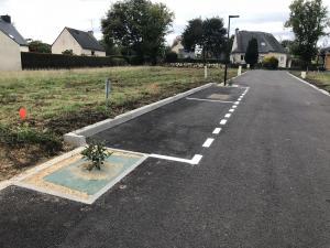 deux places de stationnement visiteur