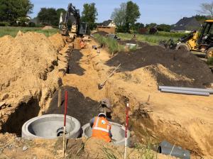 canalisations eaux usées et eaux pluviales