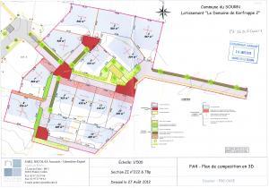 plan de composition domaine de Kerfrappe