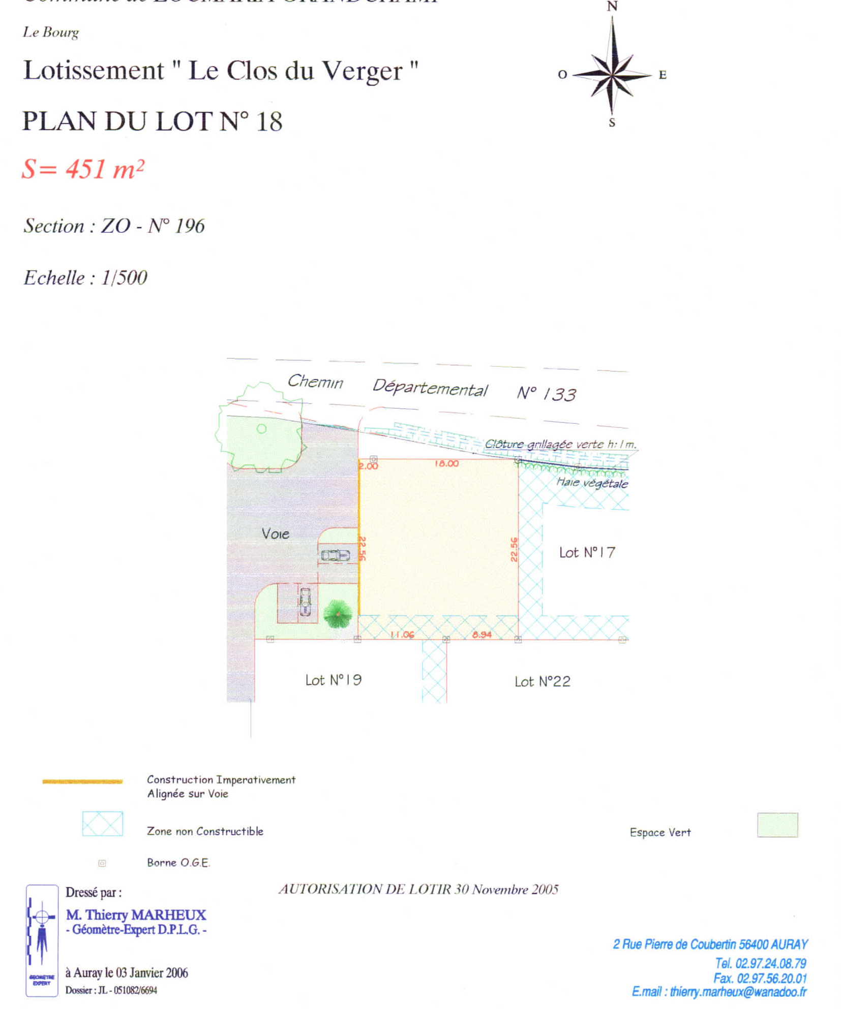 locmaria plan de composition